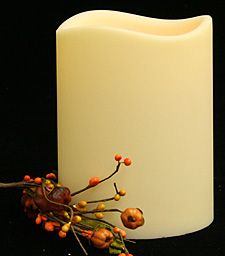 4 5 X 6 Led Flameless Outdoor Candle Auto On Off With Timer