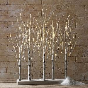 Illuminated Garden Lighted Trees
