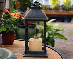 Flameless Garden Lanterns