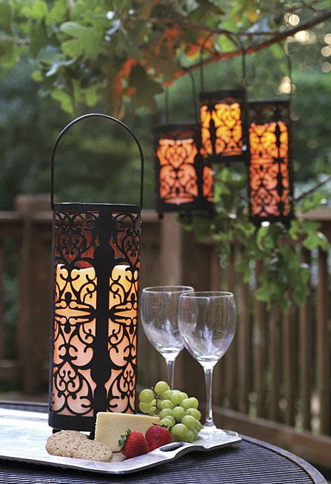 Charming Illuminated Gardens