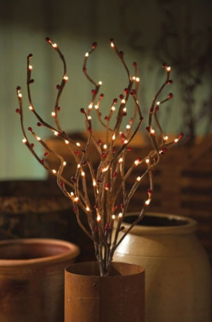 Lighted Branches Willow Branch Lights Electric Twig Lights