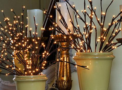 The Light Garden Illuminated Willow Branch 60 Bulb